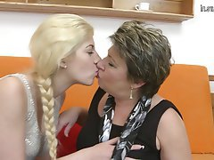 Granny Lesbian Mature Teen Old and Young
