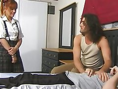 Anal Babysitter Double Penetration Facial Old and Young