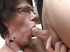 Brunette Hardcore Mature MILF Old and Young