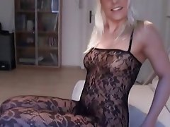 Blonde Creampie German