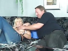 Amateur Blonde Blowjob German Old and Young