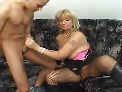 Mature MILF Old and Young Stockings