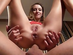 Amateur Anal Blonde Creampie German